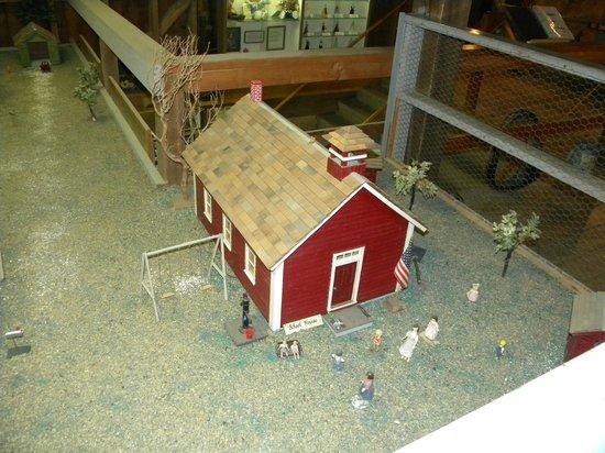 South Amana, Iowa:                   Barn Museum                 
