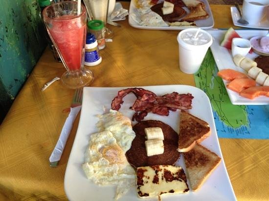 Soda Montesol:                   breakfast