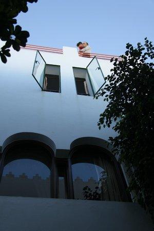 Dar Mimouna : Vue du patio