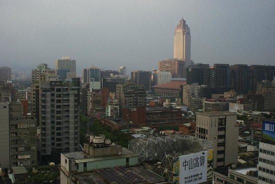 The Okura Prestige Taipei:                   眺め。