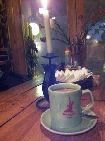Le petit Gecko: Hot choc & cosy ambience