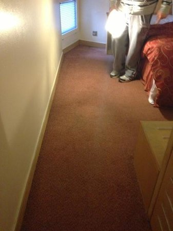 St Giles London - A St Giles Hotel:                   filthy carpet