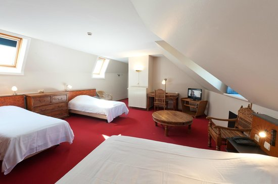 Canalview Hotel Ter Reien : vierpersoonskamer