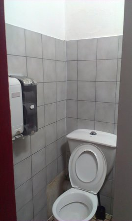 City Central Budget Accommodation : toilet