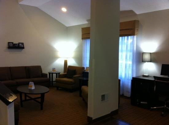 Sleep Inn Tinley Park: lounge area