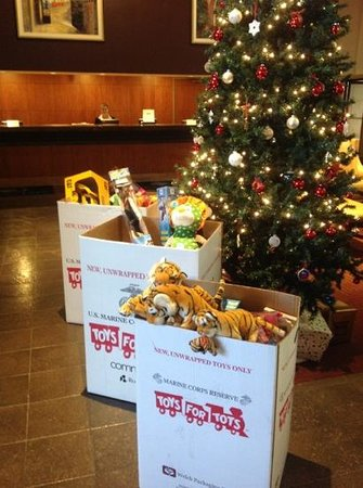 DoubleTree by Hilton Denver - Westminster:                   December 2012 Toys for Tots at the DoubleTree by Hilton Denver-Westminster, Co