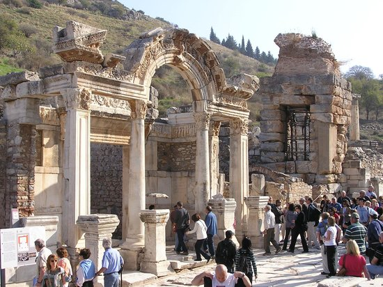 Ancient City of Ephesus:                                     Archaeological site