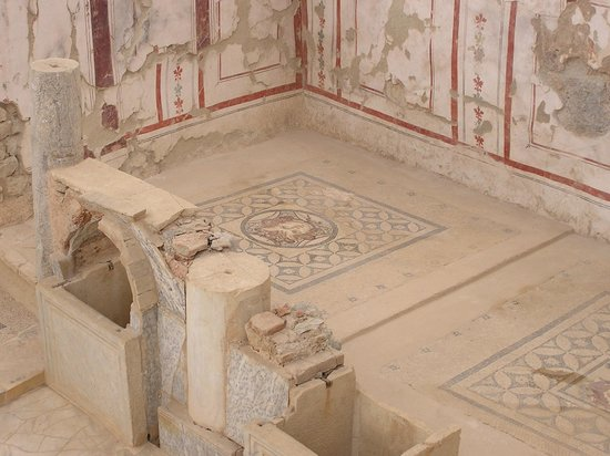 Ancient City of Ephesus:                                     Inside terrace houses building