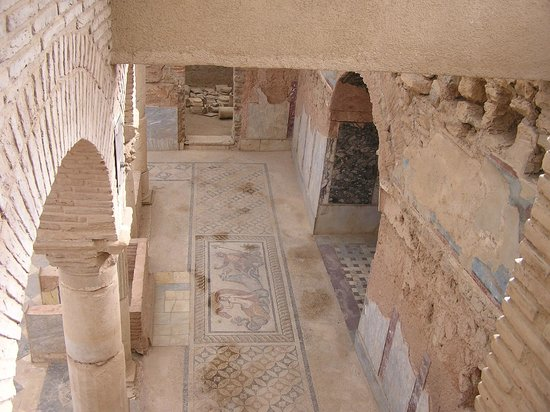 Efesos:                                     Mosaic floor in terrace houses