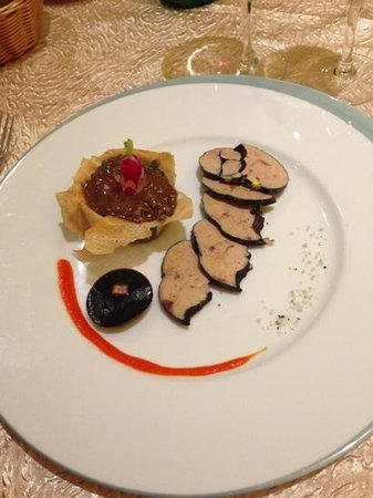 Auberge de la Truffe - Hotel de la Mairie:                   ottima cucina del ristorante!