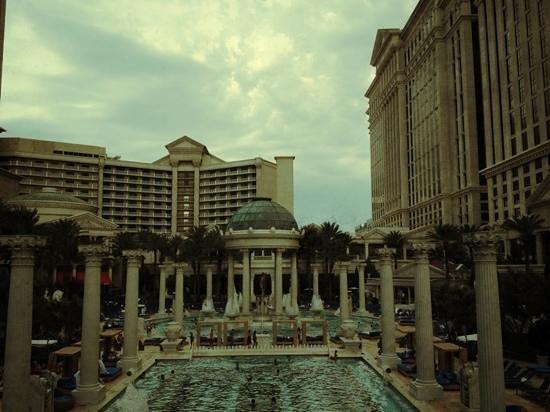 Caesars Palace:                   Caesar's pool.
