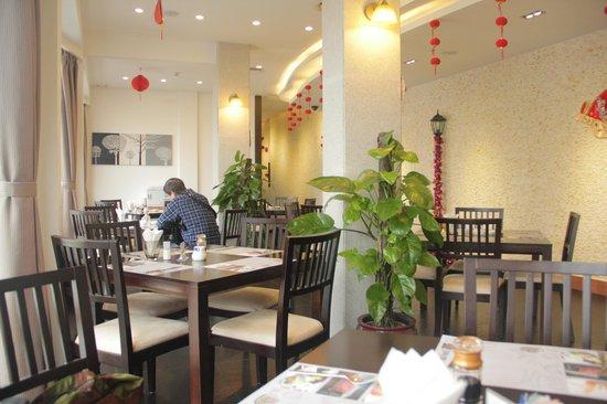 Kingdo Hotel: breakfast place outlook