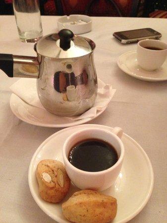After meal coffee, Lebanese Cardamom coffee