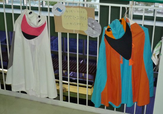 Settsu Gorge:                   あくあぴあ芥川 変身用の衣装もあります