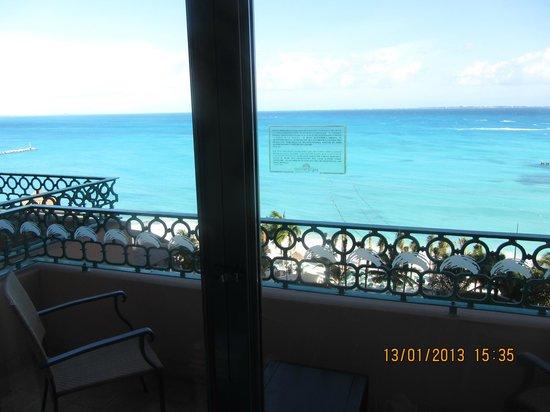Grand Fiesta Americana Coral Beach Cancun: Blick zum Strand