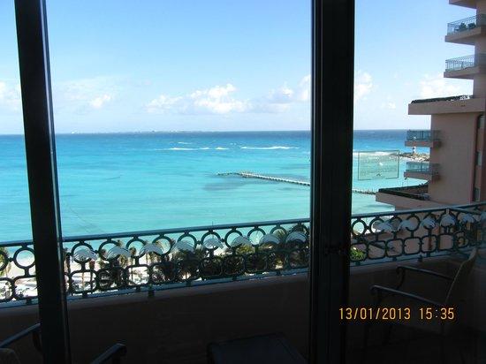 Grand Fiesta Americana Coral Beach Cancun: Meerblick