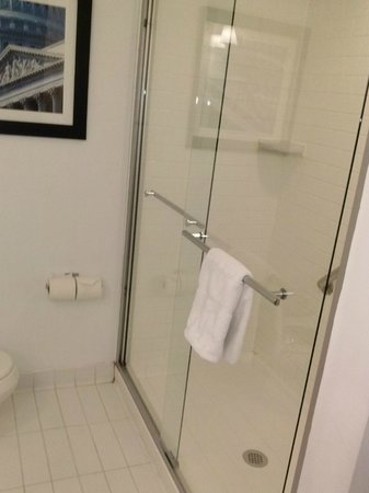 Metro Points Hotel - Washington North:                   larger shower