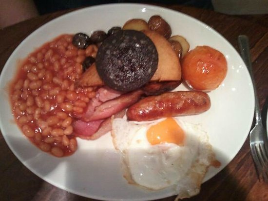 Royal Albion Hotel: full english