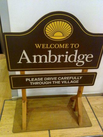 BBC Birmingham Tours: BBC Birmingham - Welcome to Ambridge sign