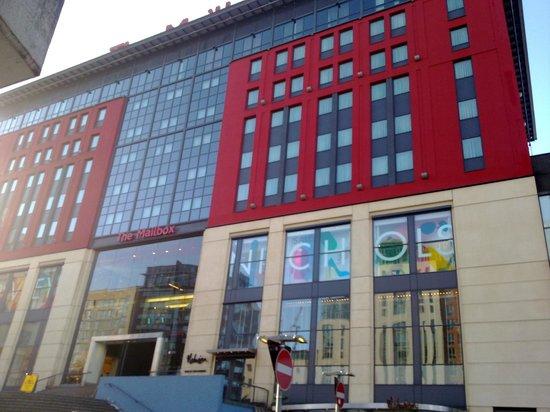 BBC Birmingham Tours: BBC Birmingham - Mailbox
