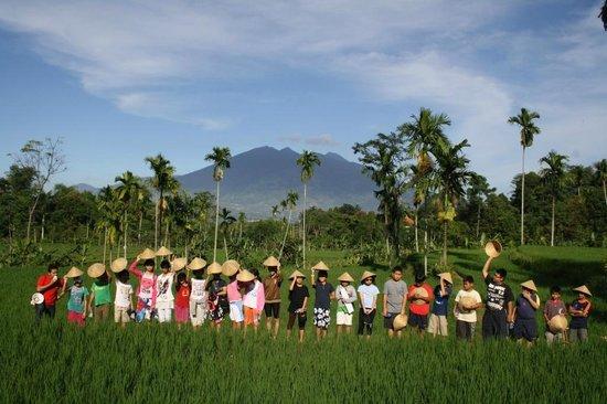 pemandangan kampoeng wisata pancawati