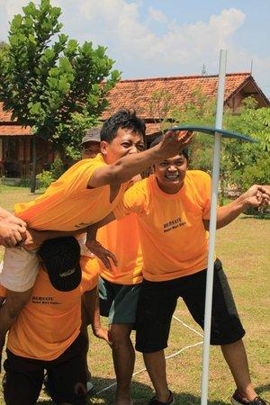 Pancawati, Indonesia:                   star lope