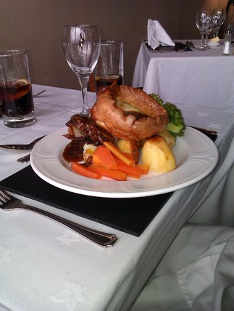 Isle of Mull Hotel & Spa:                   Roast Beef