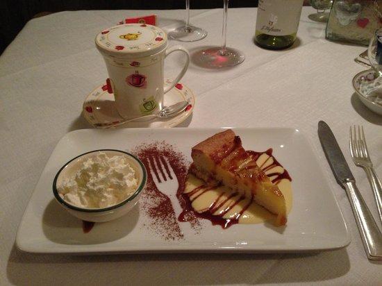 Wine & Dine :                   Dolce