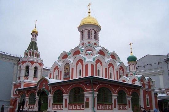 Kazan Cathedral :                   Казанский Собор зимой