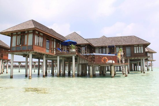 Olhuveli Beach & Spa Resort: Presidental Water Suite # 701