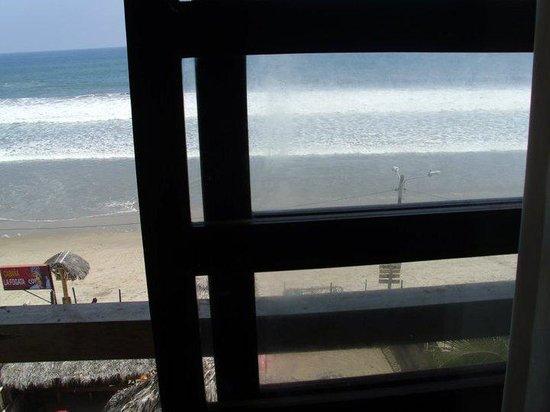Abad Lounge Hotel:                   vista desde la ventana
