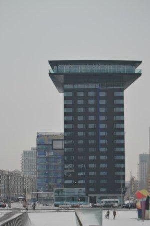 Inntel Hotels Rotterdam Centre:                   vu de l'exterieur