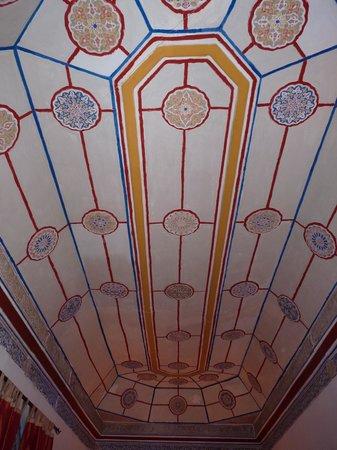 Dar Malak:                   plafond d'un chambre