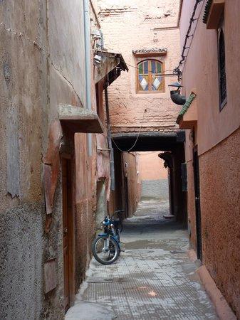 Dar Malak:                   l'arrivée dans le derb
