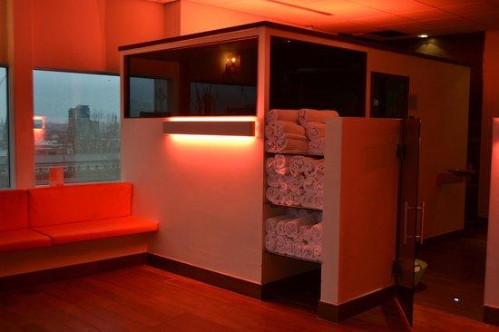 Inntel Hotels Rotterdam Centre:                   sauna nordique