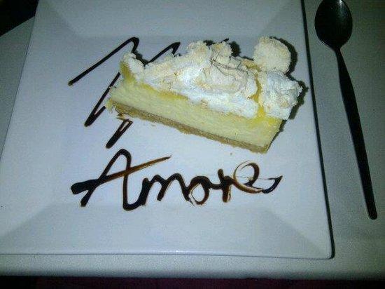 Amore Sunderland:                   Dessert at Amore mmmmmm