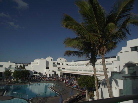 Hotel Lanzarote Village:                   Main hotel building
