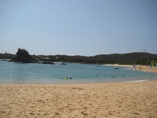 Dreams Huatulco Resort & Spa:                   Beautiful Beach