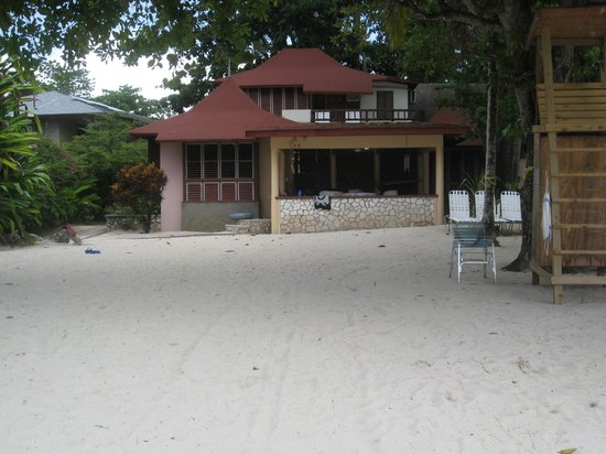 Nirvana on the Beach:                   Owner's villa where we stayed