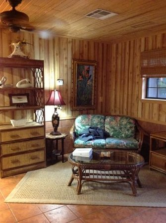 BlissWood Bed and Breakfast Ranch:                   the Lanai House