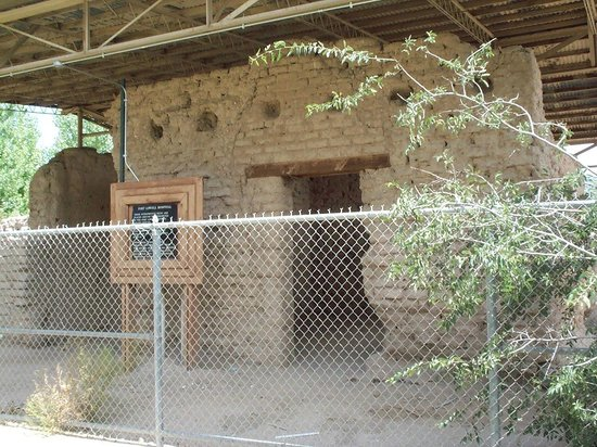 Fort Lowell Museum:                   Adobe fort hospital ruins