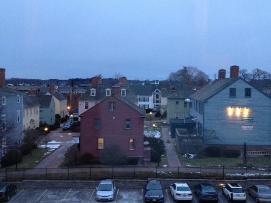 Residence Inn Portsmouth Downtown/Waterfront:                   View from the room