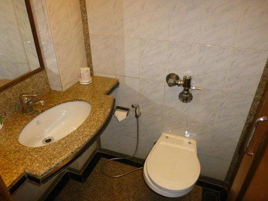 Hotel Regal Enclave: Bathroom