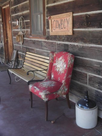 Pioneertown Motel:                   perfect for reading/ sitting with a beer