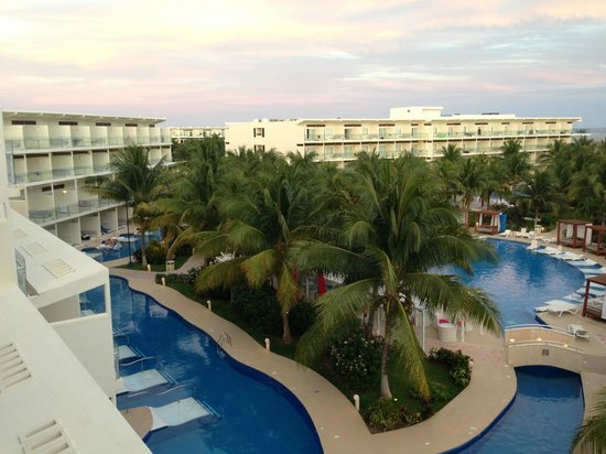 Azul Beach Resort Sensatori Mexico:                   View from the Adult only block