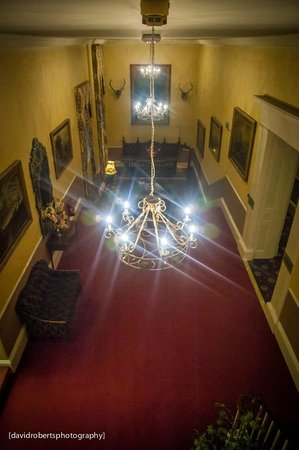 The Bulkeley Hotel:                   First Floor Hallway