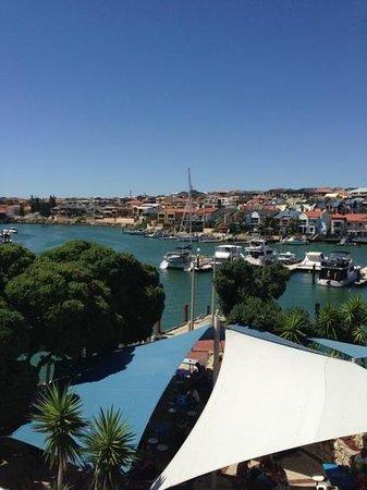 Mindarie Marina Hotel & Villas:                   view from balcony
