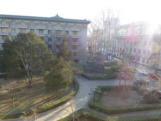 Beijing Friendship Hotel: View from my room