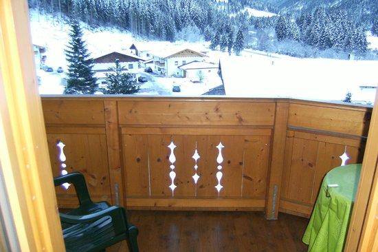 Hotel Bergcristall: Balcony