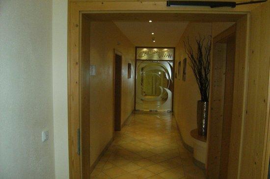 Hotel Bergcristall: Welness area with sauna and pool